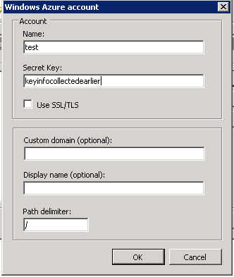 Managing vhd's and files on a Windows Azure Storage account